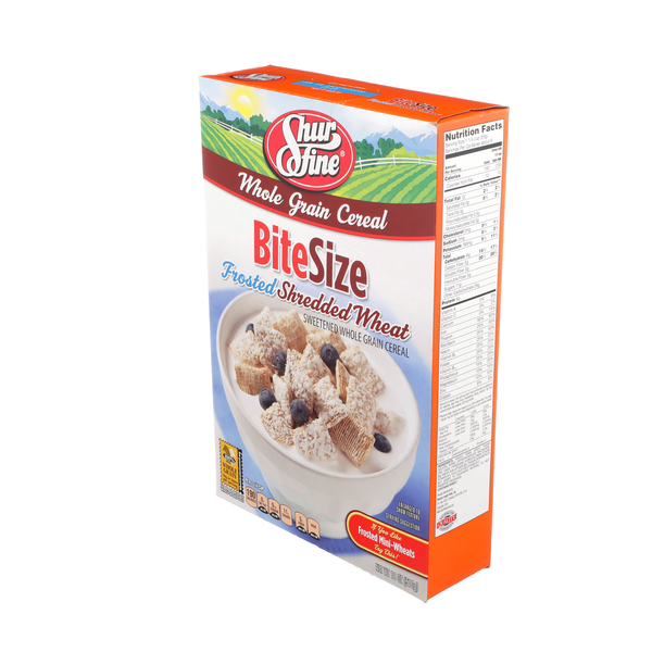 Bite Size Frosted Shredded Wheat
