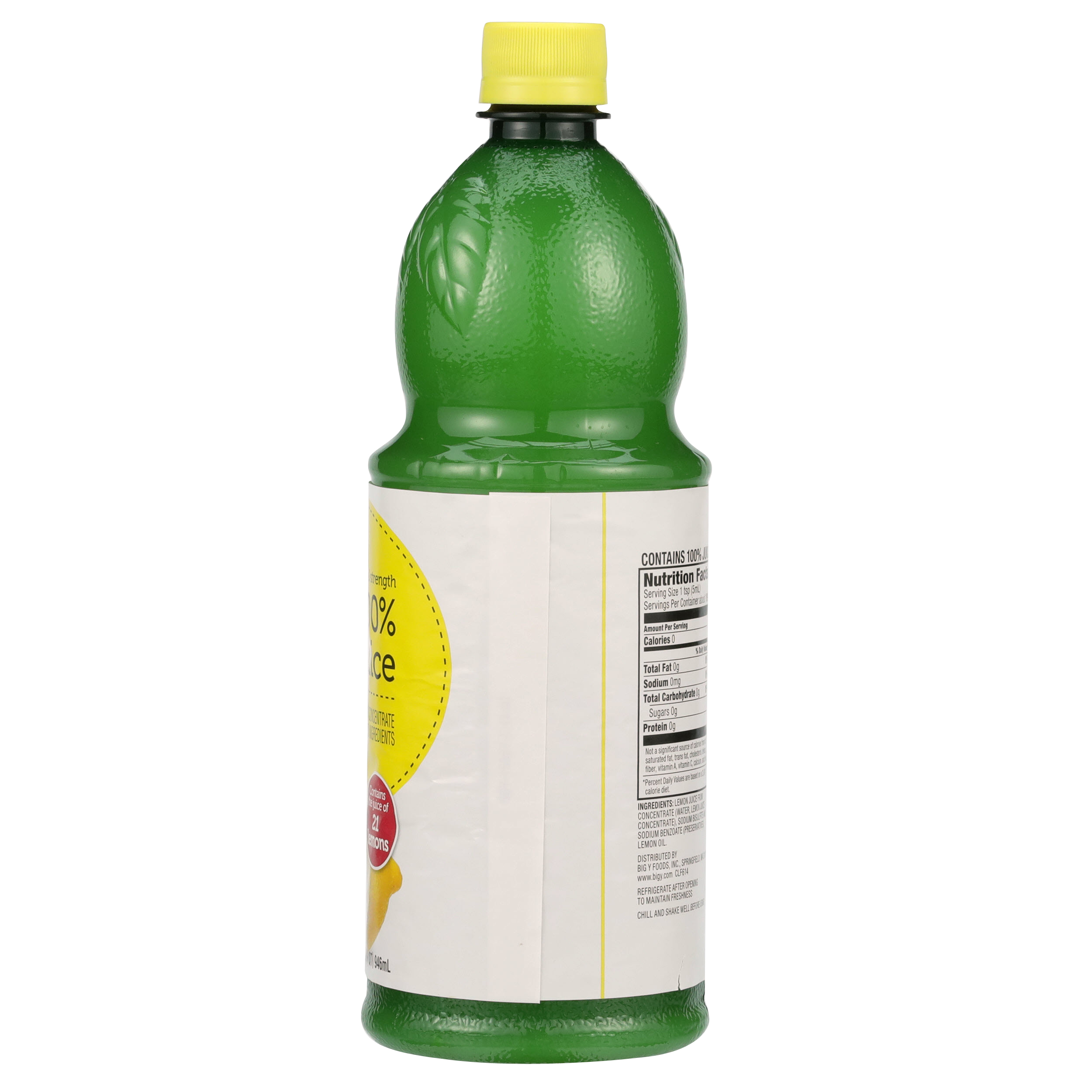 Smartlabel 100 Lemon Juice From Concentrate With Added Ingredients 018894153573